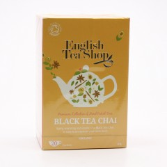 English Tea Shop Černý čaj Chai, bio 40 g, 20 ks