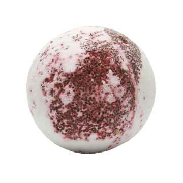 Krémová kulička do koupele červené hrozny 50 g, 1 ks