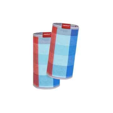 Wickelkinder Manduca Fumbee ochranné návleky 2 ks, červeno-modrá kostka