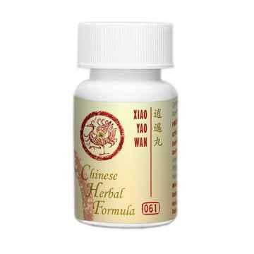Lanzhou Pharmaceutical TCM formule 061 Xiao Yao Wan 33 g, 192-200 ks (kuliček)