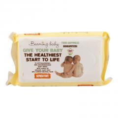 Beaming baby Vlhčené ubrousky s vůní 72 ks