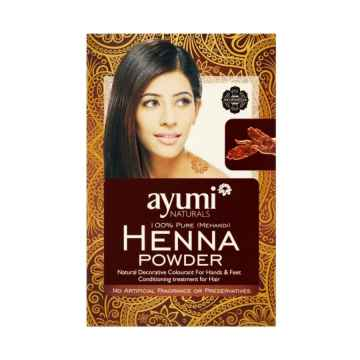 Ayuuri Natural Henna na ruce a nohy Mehandi 100 g