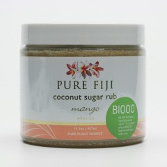 Pure Fiji Kokosový peeling s třtinovým cukrem, mango 457 ml