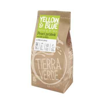 Yellow and Blue Prací prášek na bílé prádlo a látkové pleny 850 g