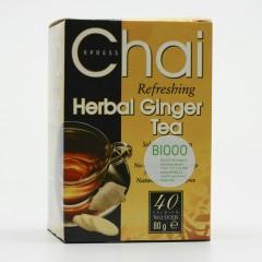Fudco Zázvorový čaj 40 ks, 80 g