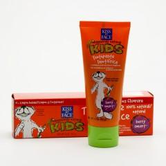 Kiss My Face Corp. Zubní pasta dětská bez fluoridu, lesní plody 96 g