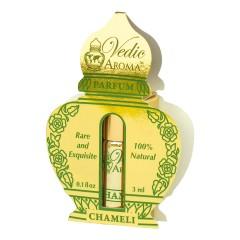 Vedic Aroma Ayurvédský parfém na bázi oleje Chameli 3 ml, roll on
