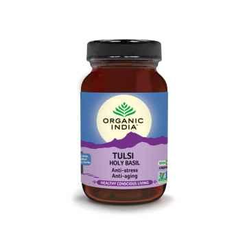 Organic India Tulsi, kapsle 60 ks