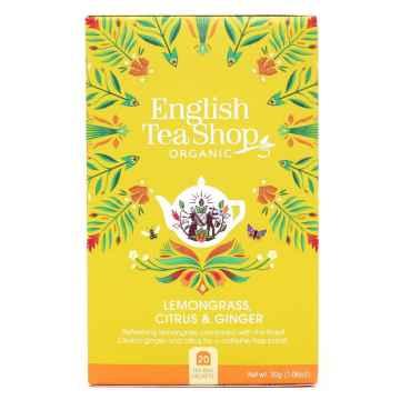English Tea Shop Čaj citronová tráva, zázvor a citrusy 20 ks, 30 g
