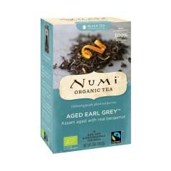 Numi Organic Tea Aged Earl Grey, černý čaj 36 g, 18 ks