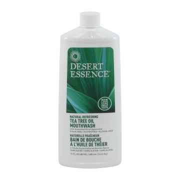 Desert Essence Ústní voda tea tree a máta 480 ml