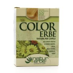 Color Erbe Barva na vlasy Blond světle zlatavá 22, Natur 135 ml