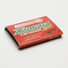 ostatní Sibiřská žvýkací pryskyřice s šípkem 5 tablet, 4 g