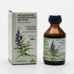 ostatní Šišák bajkalský, extrakt 50 ml