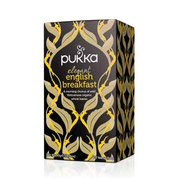 Pukka Čaj ayurvédský Elegant English Breakfast, bio 50 g, 20 ks