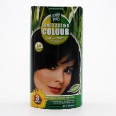 Henna Plus Dlouhotrvající barva Tmavě měděná hnědá 3.44 100 ml