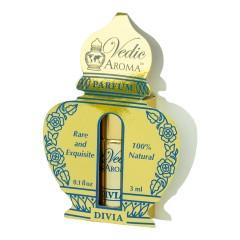 Vedic Aroma Ayurvédský parfém na bázi oleje Divia 3 ml, roll on