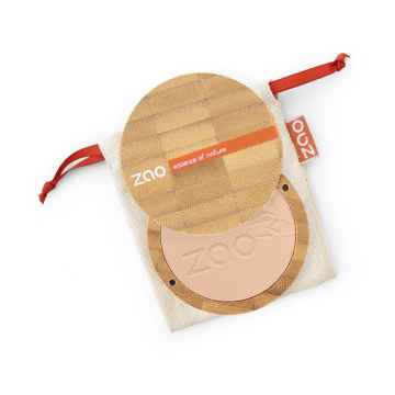 ZAO Kompaktní pudr 302 Beige Orange 9 g bambusový obal
