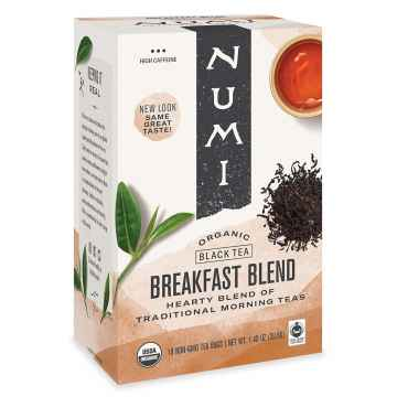 Numi Organic Tea Černý čaj Breakfast Blend  39,6 g, 18 ks