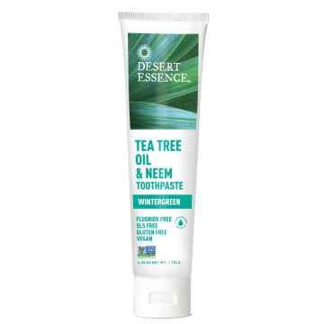 Desert Essence Zubní pasta tea tree a nimba 176 g