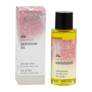 Farfalla Drahokamový pleťový a tělový olej Radost ze života 80 ml