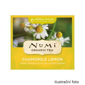 Numi Organic Tea Chamomile Lemon, bylinný čaj 170 g, 100 ks