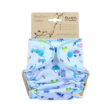 Petit Lulu Autíčka kalhotková plena novorozenecká 1 ks