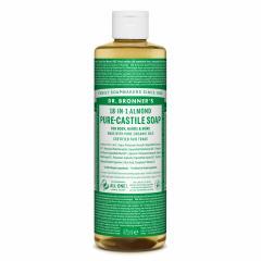 Dr. Bronner´s Tekuté universální mýdlo ALL-ONE!, Almond 473 ml