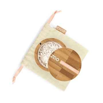 ZAO Hedvábný minerální make-up 500 Mattifying Invisible 15 g bambusový obal