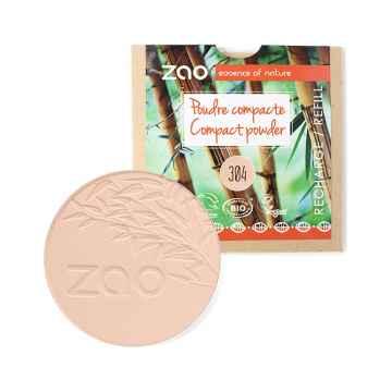 ZAO Kompaktní pudr 304 Cappucino 9 g náplň