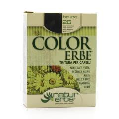 Color Erbe Barva na vlasy Temně hnědá 26, Natur 135 ml