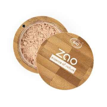 ZAO Hedvábný minerální make-up 501 Clear Beige 15 g bambusový obal