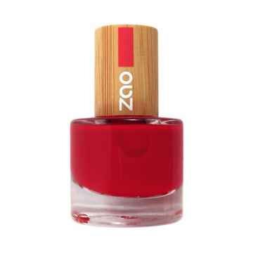 ZAO Lak na nehty 650 Carmin Red 8 ml