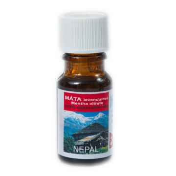 Chaudhary Biosys Máta levandulová, citrata, Nepál 10 ml