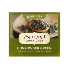 Numi Organic Tea Gunpowder Green, zelený čaj 2 g, 1 ks