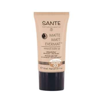 SANTE Matující make-up 03, zlatá 30 ml