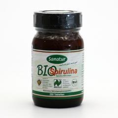 Sanatur Spirulina bio, tablety 250 tablet, 100 g