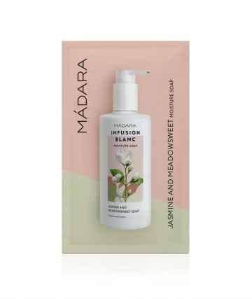 MÁDARA Tekuté mýdlo na tělo povzbuzující, Infusion Blanc 10 ml