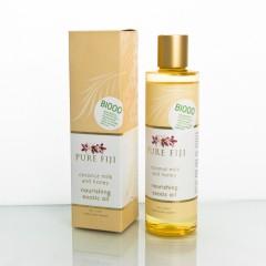 Pure Fiji Exotický masážní a koupelový olej, mléko & med 236 ml