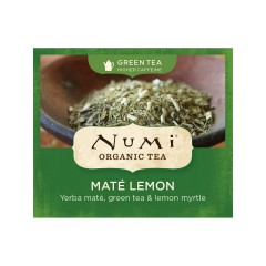 Numi Organic Tea Zelený čaj Mate Lemon Green 2,3 g, 1 ks