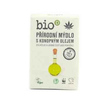 Bio-D Mýdlo s konopným olejem 95 g