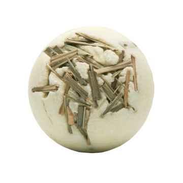Krémová kulička do koupele citronová tráva 50 g, 1 ks