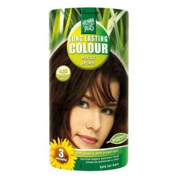 Henna Plus Dlouhotrvající barva Mocca hnědá 4.03 100 ml