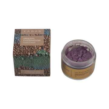 Faran Minerální oční stíny, Purple Wow Eyeshadow 4 g, 15 ml