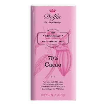 Dolfin Čokoláda hořká 70% kakaa 70 g