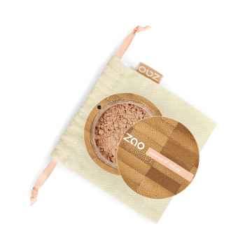 ZAO Hedvábný minerální make-up 504 Neutral Beige 15 g bambusový obal