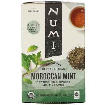Numi Bylinný čaj Moroccan Mint 18 ks, 39,6 g