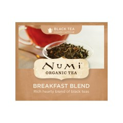 Numi Organic Tea Breakfast Blend, černý čaj 2,2 g, 1 ks