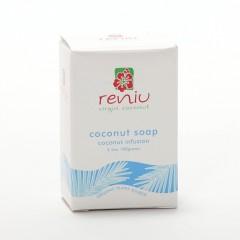 Reniu Fiji Mýdlo z kokosového oleje, kokos 100 g