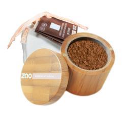 ZAO Hedvábný minerální make-up 505 Coffee Beige 15 g bambusový obal